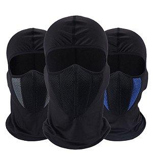6 Posição por 1 6x1 Touca Ninja Moto Boy Balaclava Mascara Motoqueiros Moto Paintbal Ar Frio Vento Pó IPI De Segurança