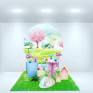 Locação de decoração jardim