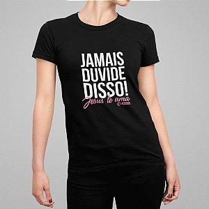 Camiseta Feminina - Jesus Te Ama