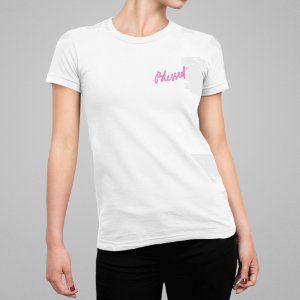 Camiseta Feminina - Blessed