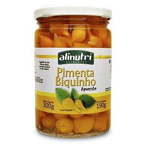 Conserva de Pimenta Biquinho Amarela 190g