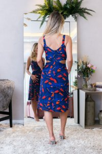 Vestido Azul A.brand