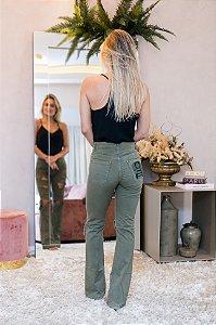 Calça jeans Verde lilly