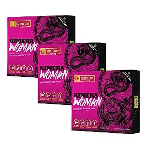 Iridium - Kit 3x Kimera Woman 60 Caps