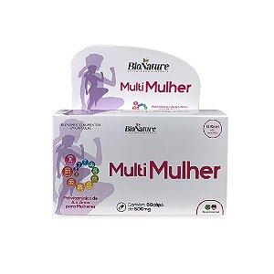 BioNature - Multi Mulher A-Z 60 caps 500 Mg