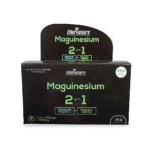 BioNature - Magnésio (Cloreto+Quelato) 60 caps