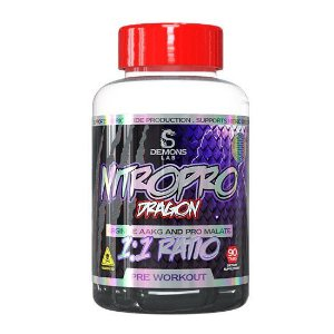 Pré Treino Nitro Pro Demons Lab 90 tabs
