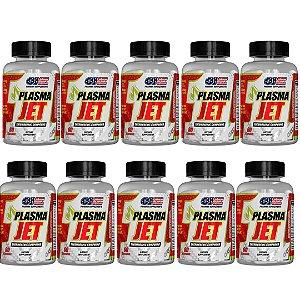 Emagrecedor Plasma Jet 600 Caps One Pharma kit 10