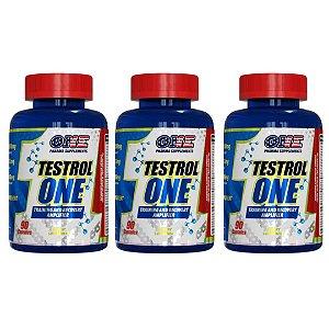 Pré Hormonal Testrol One 90 caps One Pharma Kit 3