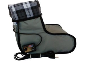 Bota Pantufa Térmica Elétrica Aquece pés Com Controle Multitemperaturas L501 - Sonobel - 220v