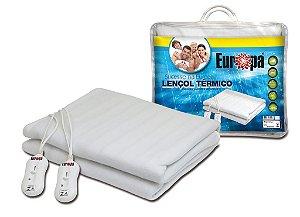 Lençol Térmico Queen Size Luxo 100% Soft com Inmetro - Europa - 220v