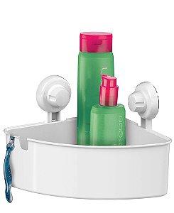 Porta Shampoo Cantoneira Prateleira Banheiro Suporte Com Ventosa - 401BC Future