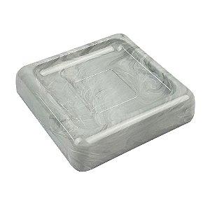 Saboneteira Porta Sabonete Acessório Para Pia Banheiro Lavabo Mármore - 20875/480 Coza