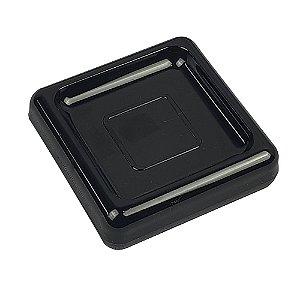 Saboneteira Porta Sabonete Acessório Para Pia Banheiro Lavabo Preto - 20875/0008 Coza