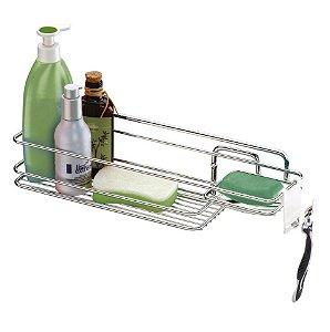 Suporte Porta Shampoo Sabonete De Parede Cromado 998 - Future