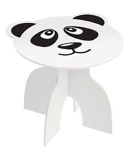 Mesa Infantil Mesinha Animais Kids Brinquedo Criança Madeira Mdf - 970 Junges - Panda