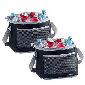 Kit 2 Bolsa Térmica Cooler 20 Litros Praia Bebidas e Alimentos - Paramount