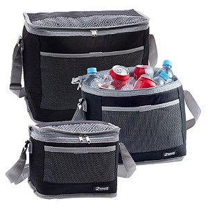 Kit 3 Bolsa Térmica Cooler 30 / 20 / 10 Litros Bebidas e Alimentos Praia - Paramount