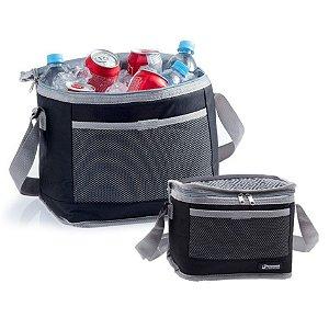 Kit Bolsa Térmica Cooler 20 + 5 Litros Camping Praia Bebidas e Alimentos - Paramount