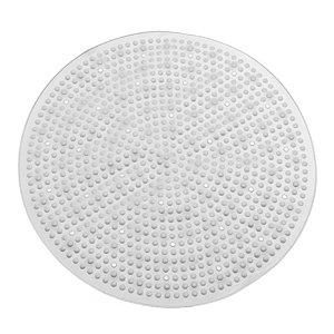 Tapete Antiderrapante Box Banheiro Redondo 50cm Com Ventosas - 769 Paramount - Transparente