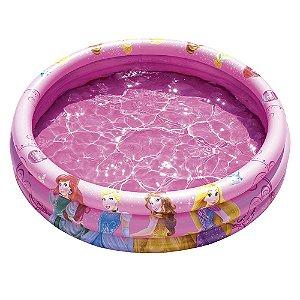 Banheira Piscina 140 Litros Inflável Infantil Bebê Princesas - 1156 Mor