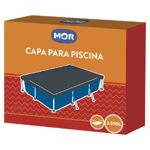 Capa Para Piscina Premium 2500 Litros  - Mor
