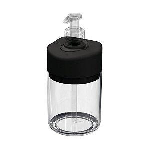 Dispenser Porta Sabonete Líquido Saboneteira Acessório Banheiro - UZ507 Uz - Preto