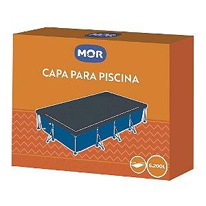 Capa Para Piscina Premium 6200 Litros - Mor