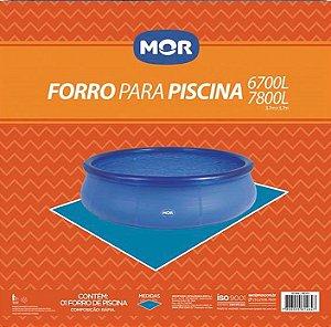 Forro Para Piscina Inflável Splash Fun 6700 E 7800 Litros - Mor