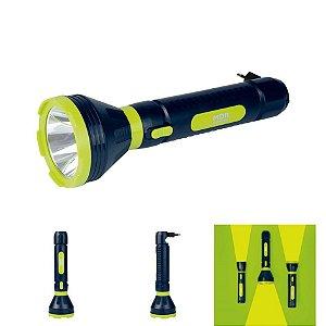 Lanterna Luminária Power Led 250 Lumens Recarregável Bivolt - Mor