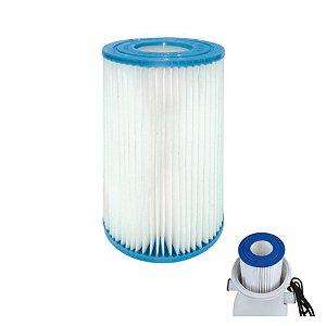 Refil Para Filtro De Piscina Modelo Vazão 3600 Litros/h - Mor