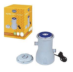Filtro Para Piscina Bomba Vazão 2.200 L/h Refil - Mor