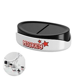 Saboneteira Porta Sabonete Em Barra Mickey Acessório Para Pia Banheiro Disney - 14008/0975 Coza