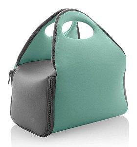 Bolsa Térmica Neoprene Carregar Marmita Lanches Fitness - BT 100 Ou - Verde