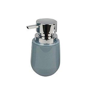 Dispenser Porta Sabonete Líquido Saboneteira Banheiro Belly - PSB 725 Ou - Azul