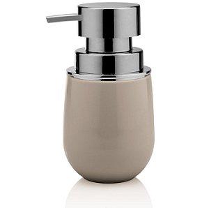 Dispenser Porta Sabonete Líquido Saboneteira Banheiro Belly - PSB 725 Ou - Bege