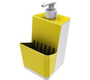 Dispensador Para Detergente Líquido Dispenser Branco - Crippa - Amarelo