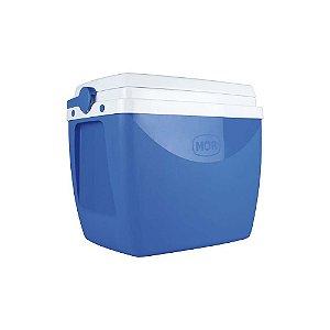 Caixa Térmica Cooler 18 Litros Bebidas Lanches Cerveja - Mor - Azul