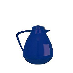 Bule Térmico Amare 650 ml Café Chá Leite Quente e Frio - Mor - Azul