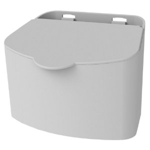 Saleiro Suporte Porta Sal Açucar 500g Pequeno Cozinha - 1112 Future - Branco