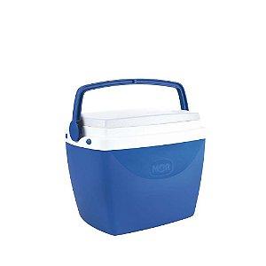 Caixa Térmica Cooler 6 Litros Bebidas Lanches Cerveja - Mor - Azul