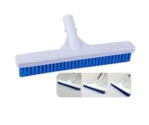Escova Reta 32cm Acessório Limpeza Para Piscina - 0219 Netuno