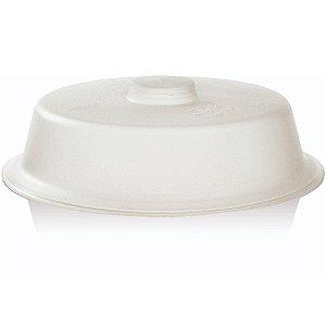 Tampa Para Microondas Protetor Comida Anti Respingos Plástico - TM 790 Ou - Natural