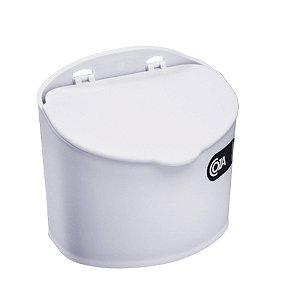 Saleiro 500ml Suporte Porta Sal Açúcar Condimentos Pequeno Cozinha - 10843 Coza - Branco