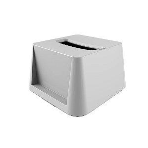 Porta Guardanapos Dispenser Interfolhado de Mesa - Crippa - Branco