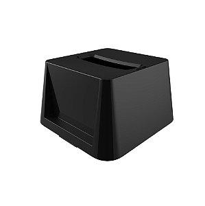 Porta Guardanapos Dispenser Interfolhado de Mesa - Crippa - Preto