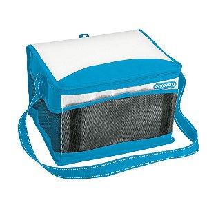 Bolsa Térmica Cooler 12 Litros Tropical Bebidas e Alimentos - Soprano - Azul