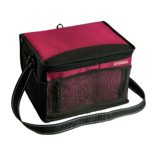 Bolsa Térmica Cooler 12 Litros Tropical Bebidas e Alimentos - Soprano - Vermelho