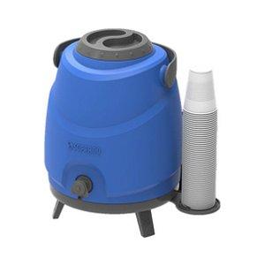 Botijão Garrafão Térmico Aspen 9 Litros Estacionário com Porta Copos e Tripé - Soprano - Azul