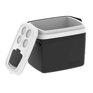 Caixa Térmica Cooler Tropical 32 Litros Bebidas e Alimentos - Soprano - Preto